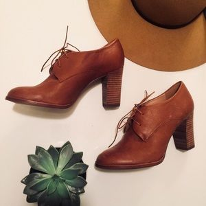 Bette High Heel Oxford by Madewell NWOT